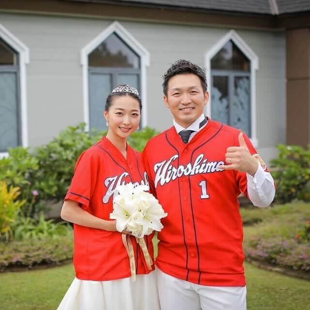 鈴木誠也 結婚相手